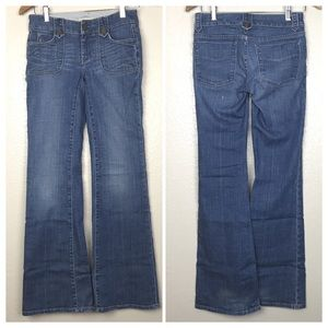 Gap Limited Edition Vintage Look Flare Jeans 24 0
